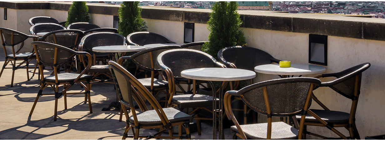get the commercial restaurant furniture you need when you need it - Outdoor Restaurant Furniture