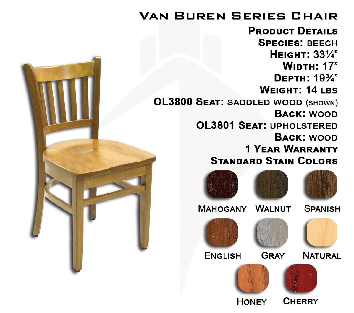 Van Buren Chair